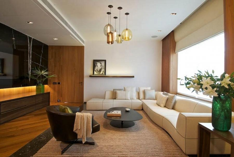 New Delhi Interior Design Ideas by Rajiv Saini living room