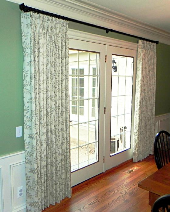 Photos french door curtains - Decorative french door curtains designs and buying tips ...