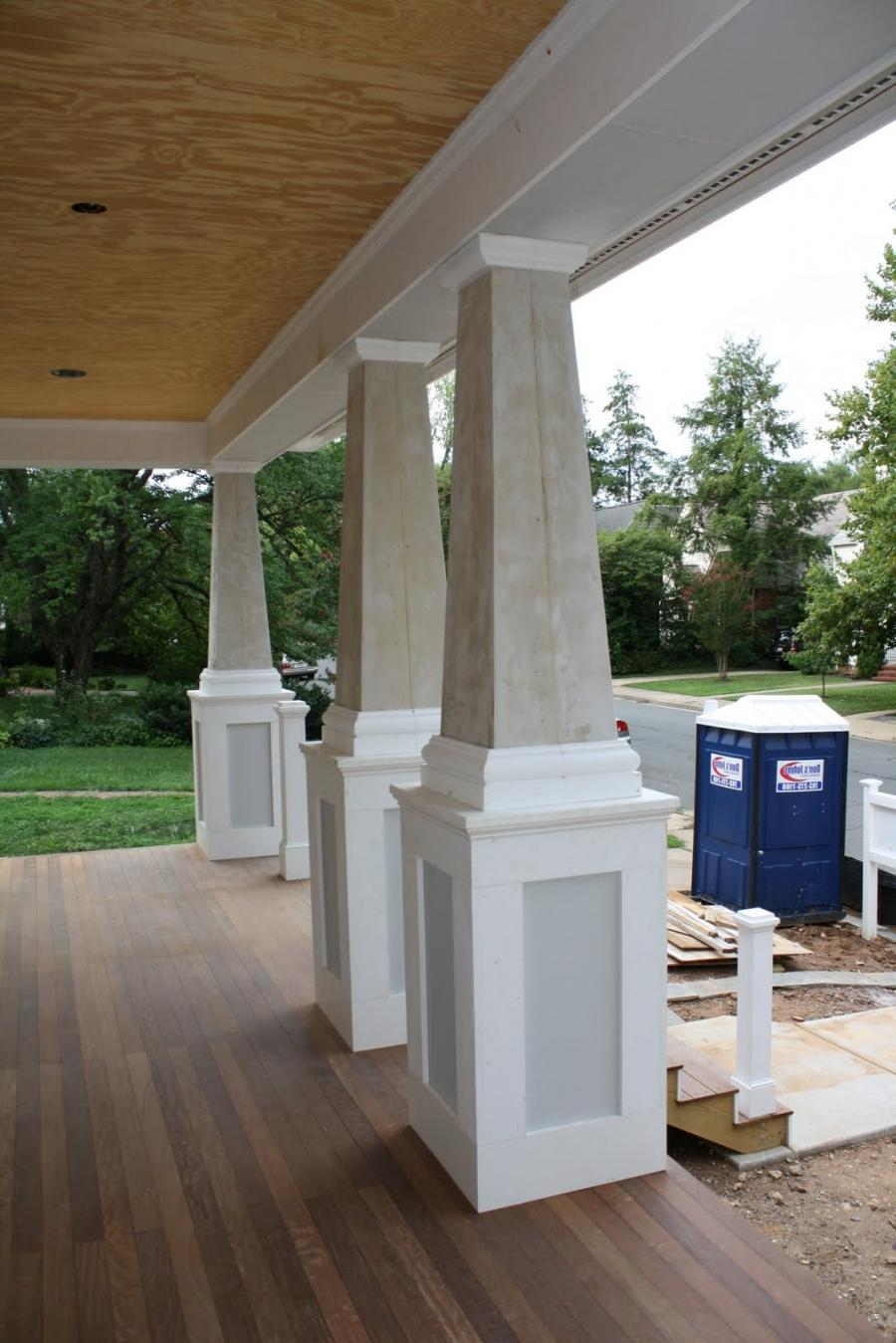 Front Porch Columns Ideas
