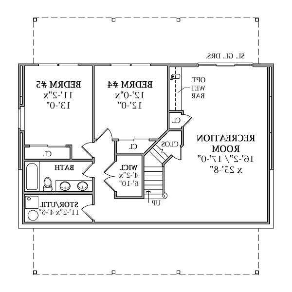 Walkout basement house plans photos for 5 bedroom house plans with basement