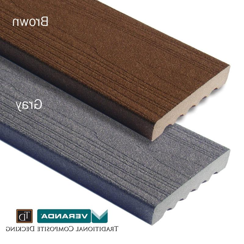 Veranda TD - brown and gray composite decking