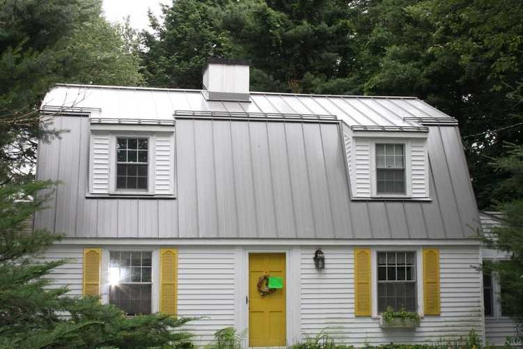 Mansard metal photo roof for Mansard roof pros and cons