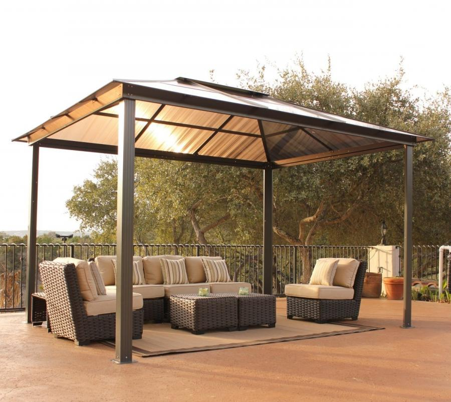 Simple gazebo photos for Simple gazebo plans