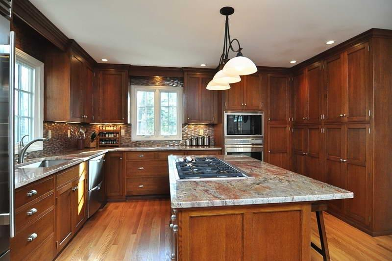 Mission Style Kitchen Cabinets With Hardwood Floors Uploaded by...