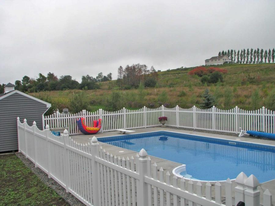 Inground Pool Fence Photos