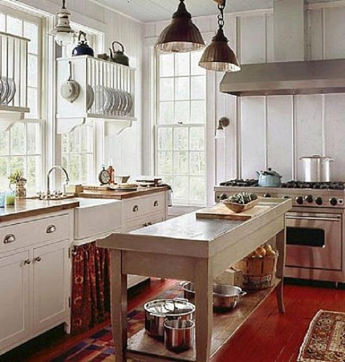 English Cottage Kitchen Designs: Small Cottage Kitchen Designs Photo Gallery