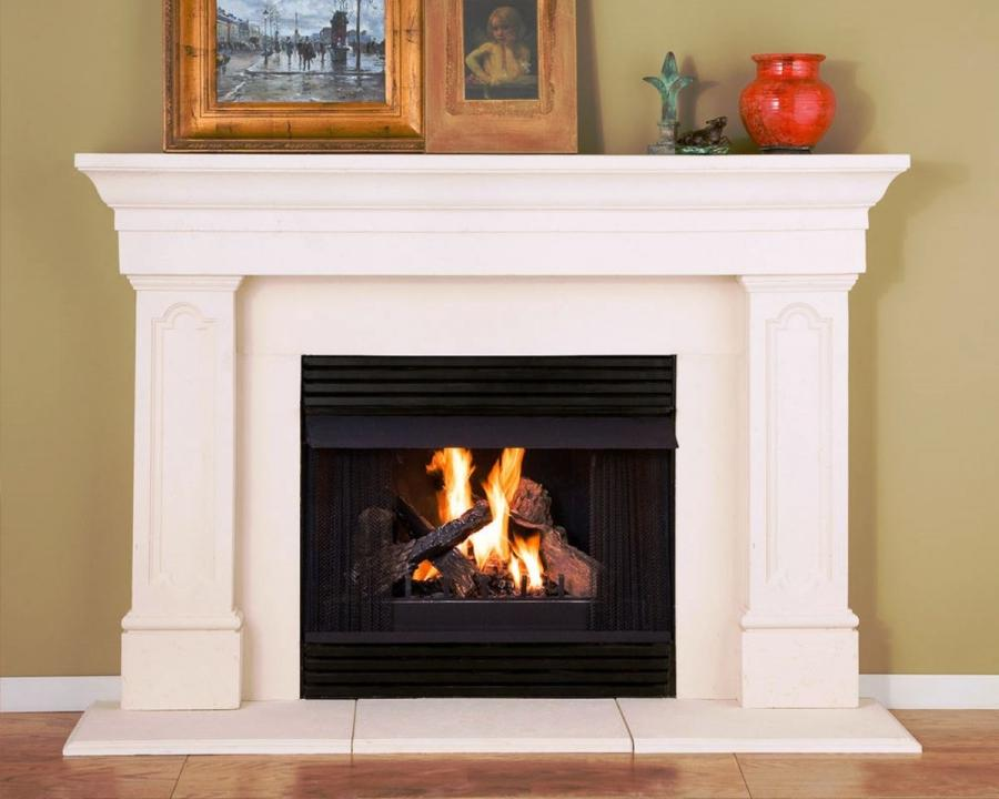Simple Fireplace Designs Photos