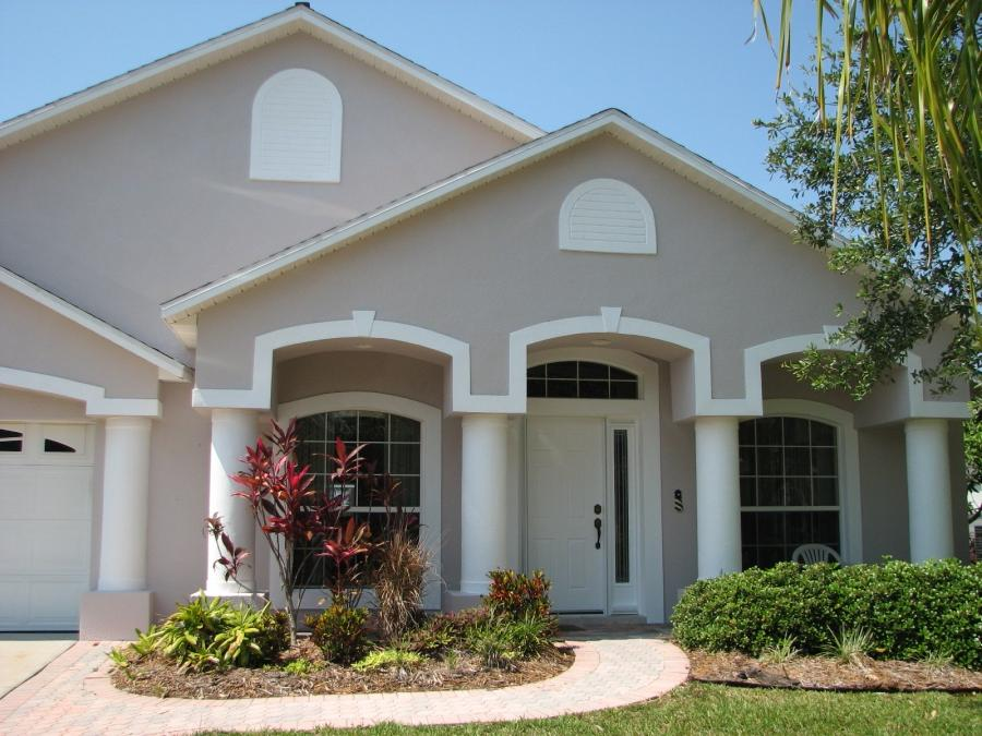 Exterior stucco photos for Florida stucco