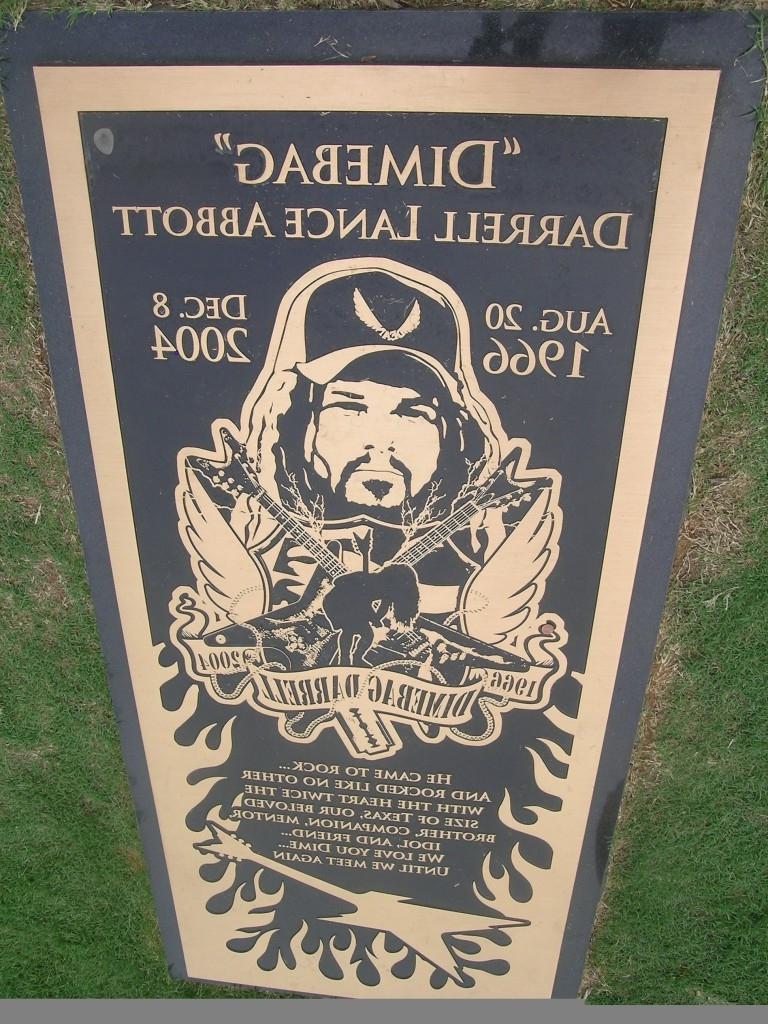 Dimebag Darrell Burial