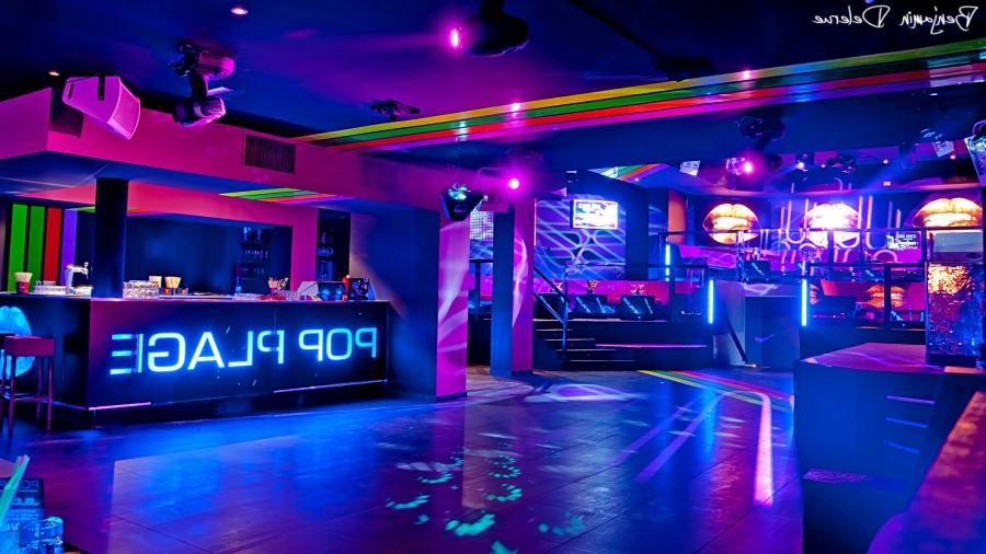 Photo Decoration Discotheque