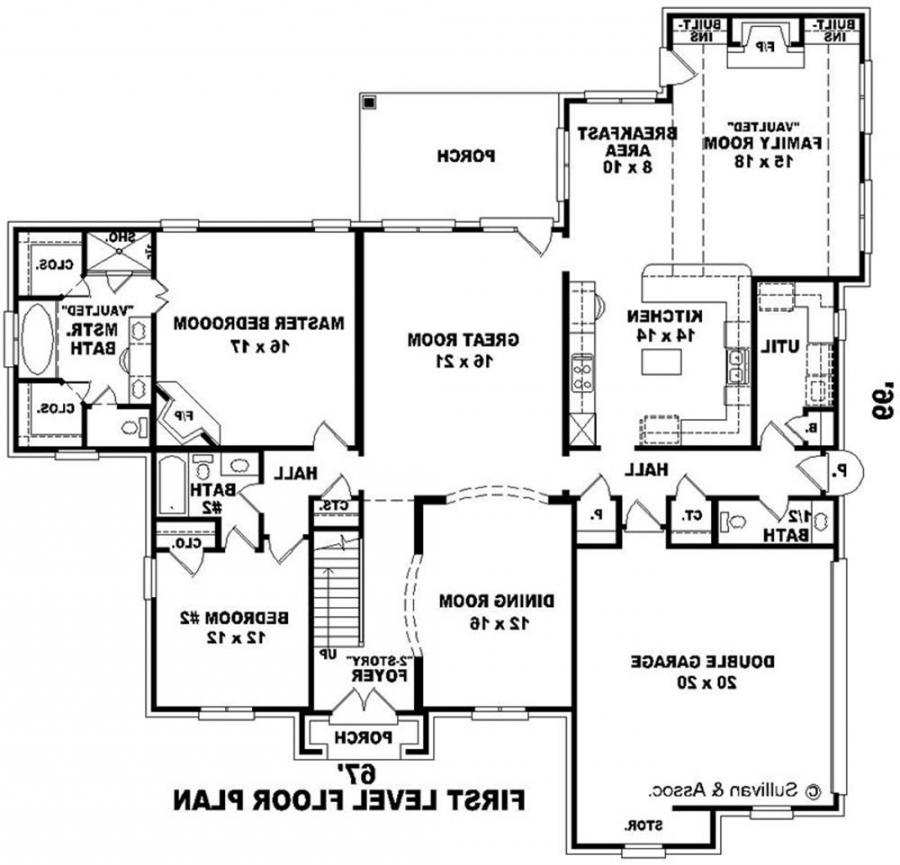 Large house plans with photos for Massive house plans
