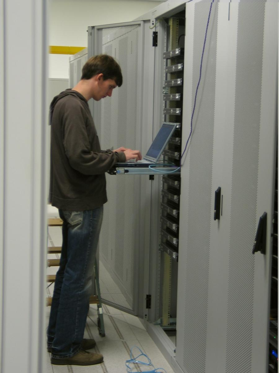 Server Room Design Photo