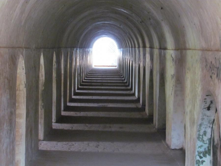 File:Corridors of St Angelo Fort.JPG