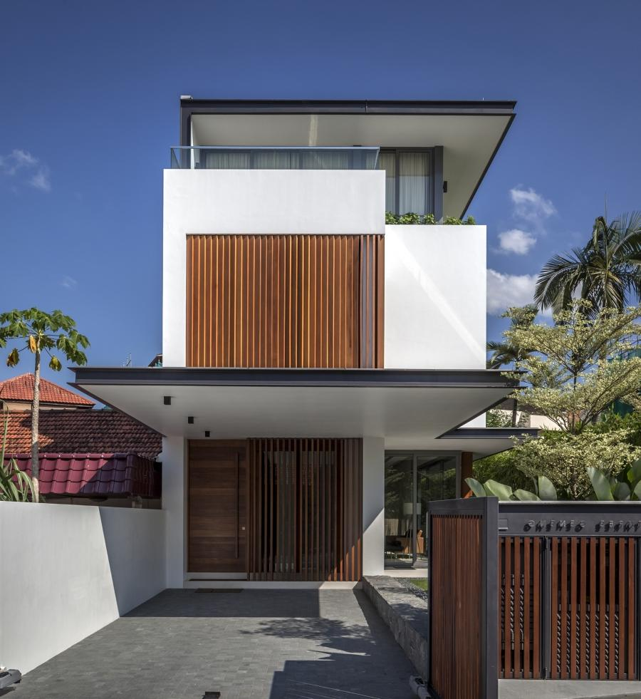 The Sunny Side House in Singapore was designed by the Wallflower...