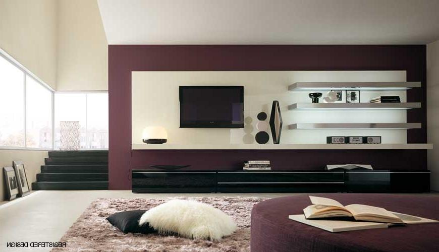 ... Modern Living Room Design Ideas Brown Color Decoration With...