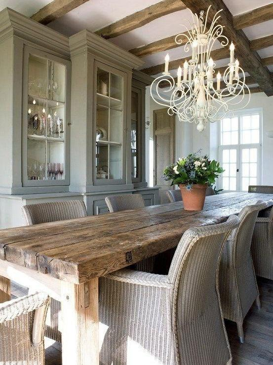 Rustic dining room design ideas and photos for Rustic dining room design ideas and photos