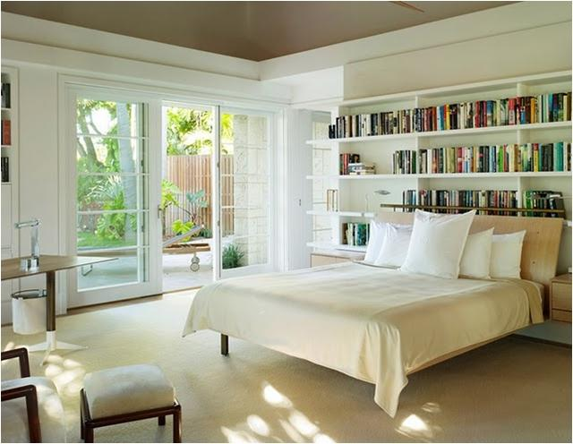 Master Bedroom - Looking at the french doors which lead into the...
