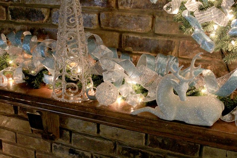 An all green mantel is one of my favorite decorating ideas. Green...