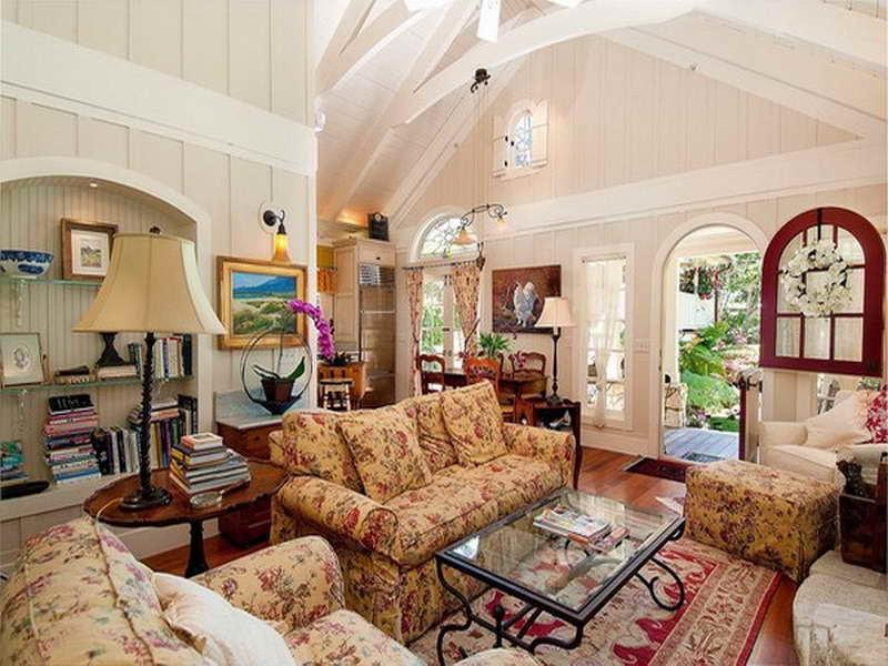 English Cottage Living Room Photos