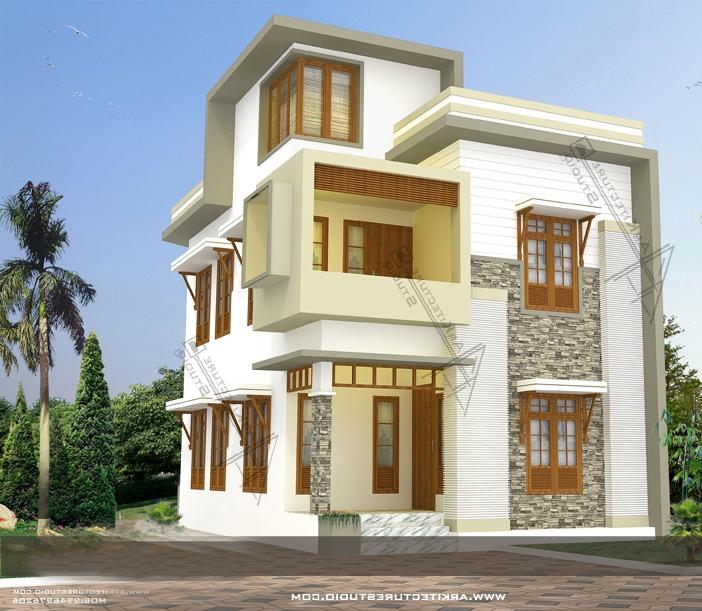 Contemporary Kerala House Designs at 1500 sq.ft