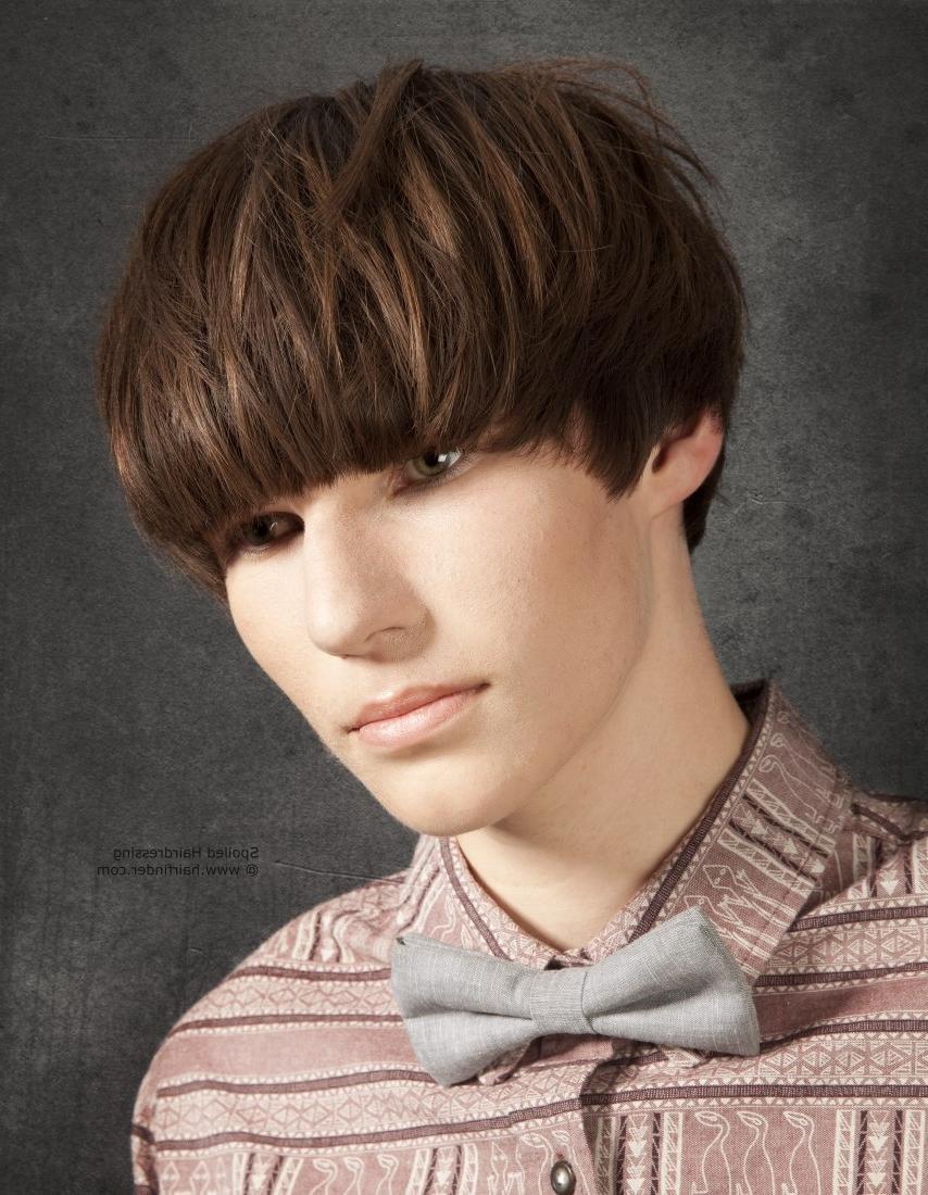Mushroom Haircut Photo Style