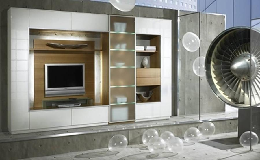 Contemporary Wall Unit Design for Interior Furniture, Partout by...