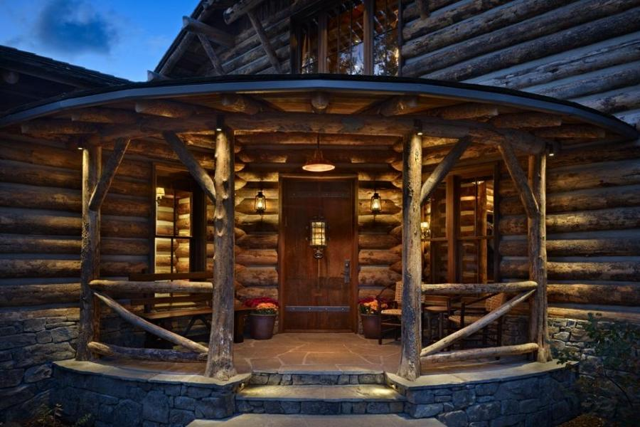 Rustic Cabin Interior Photos