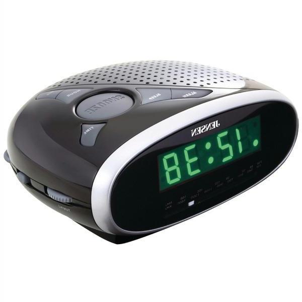 jensen jcr 650 digital photo frame fm alarm clock radio. Black Bedroom Furniture Sets. Home Design Ideas