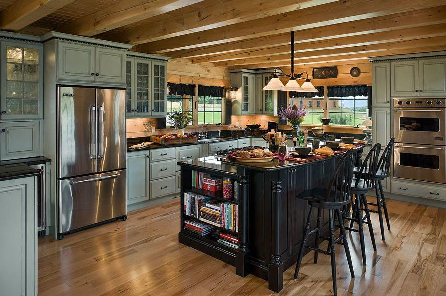 Log Cabin Kitchens Photos