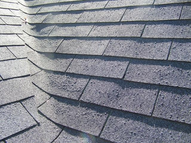 Blistered Roof Shingles Photos