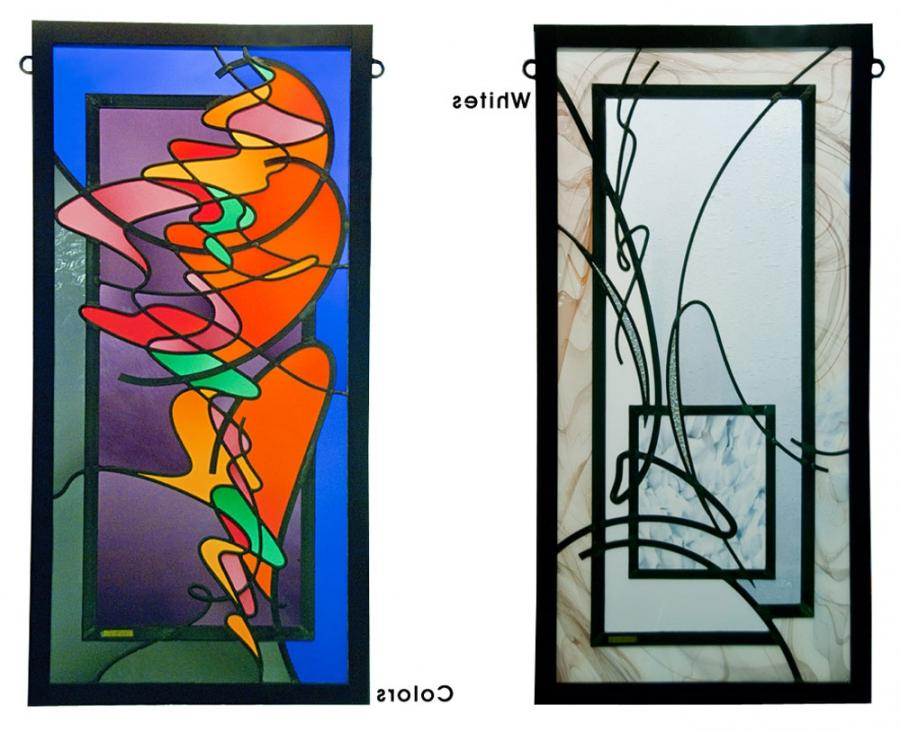 Contemporary Stained Glass Windows Photos