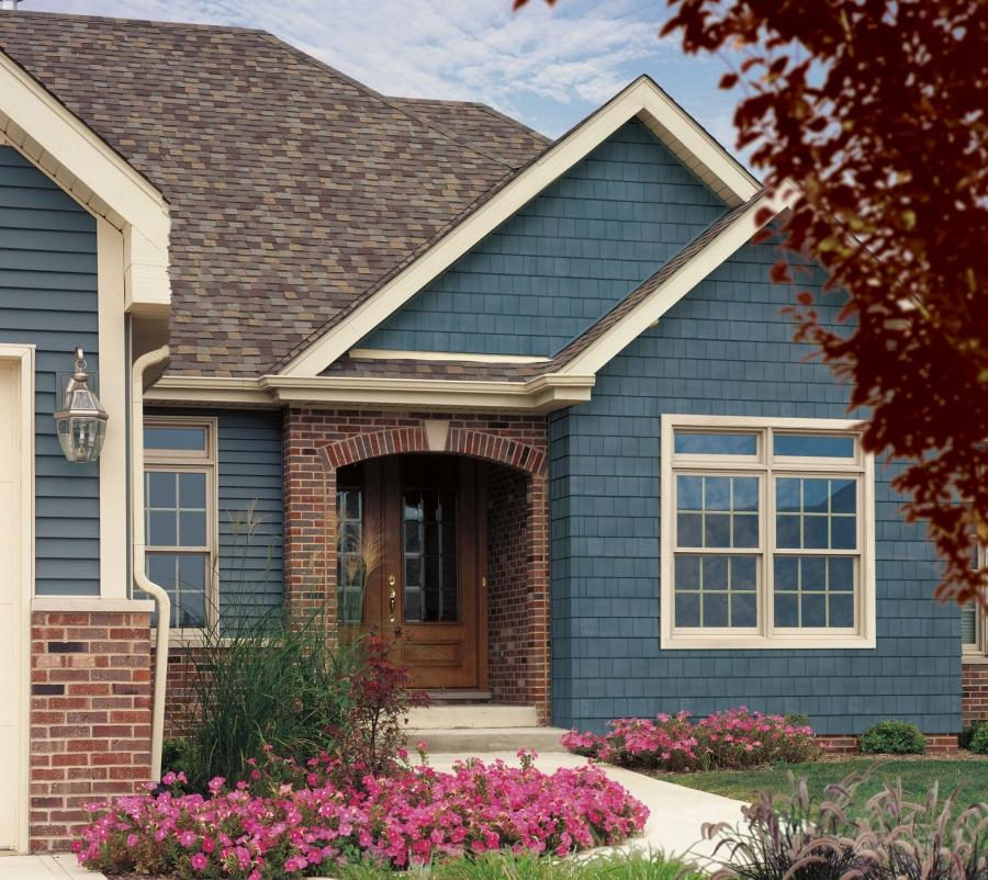 Vinyl siding examples photos for Siding styles and colors