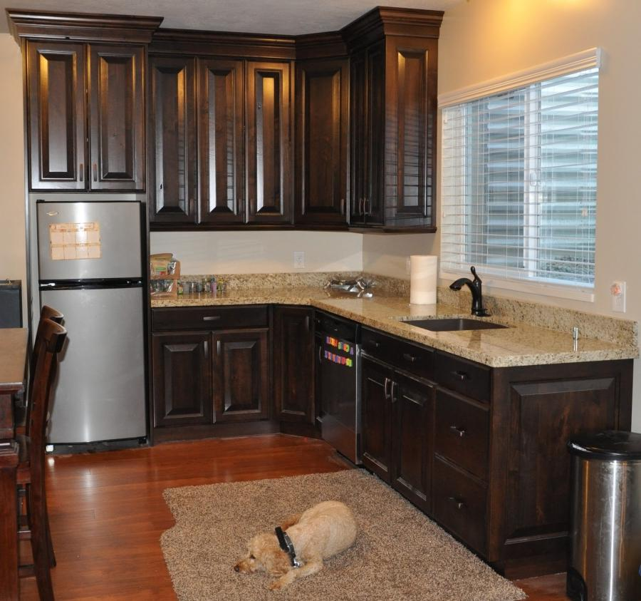 Walnut Kitchen Cabinets Photos