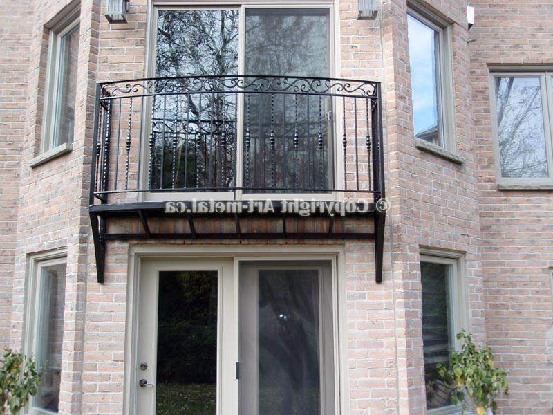 Wrought iron juliet balcony photos for French juliet balcony