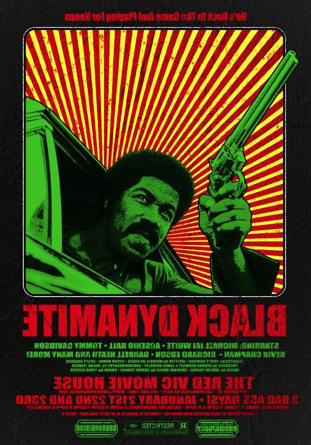 Black Dynamite at The Red Vic Movie House - San Francisco - Jan...