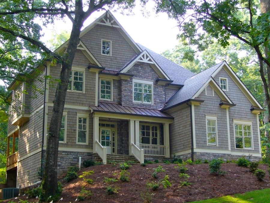 Traditional house plans with photos for Traditional house plans two story