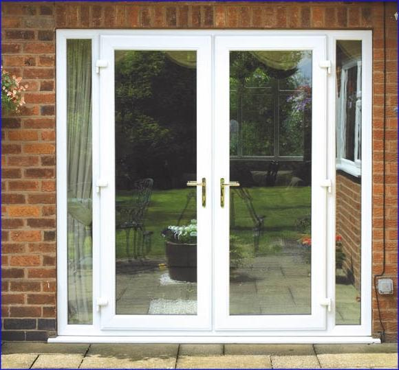 White Upvc French Doors ...