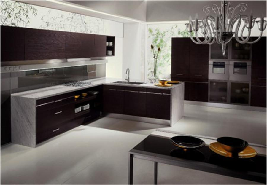 Modern kitchen design photo gallery for Contemporary kitchen designs photo gallery