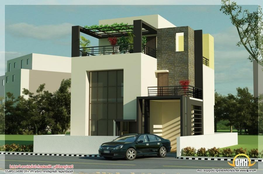 Simple Exterior House Designs In India Photo Gallery | Regarding...