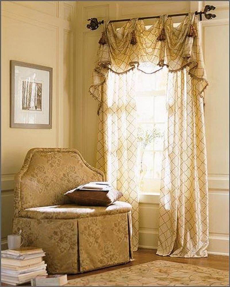 Curtain And Chair In Living Room Decoration Interior listed in:
