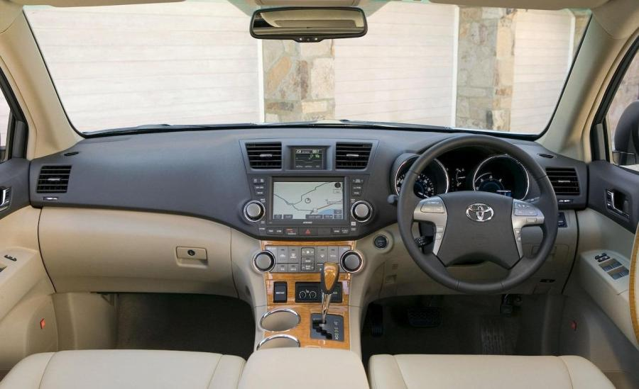 2008 Highlander Interior Photos