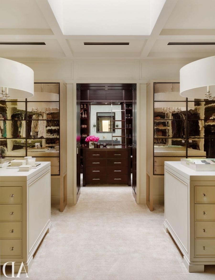 Contemporary Dressing Room/Closet by McAlpine Booth  Ferrier...
