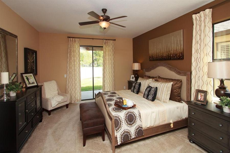 Model Home Master Bedroom Photos