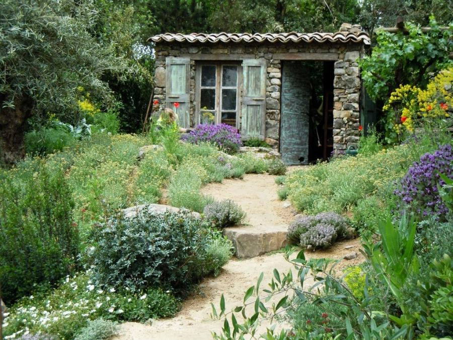 Photos of french country gardens for French country garden designs