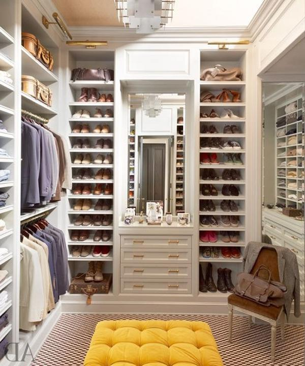 Dressing Room In Various Decorating Styles