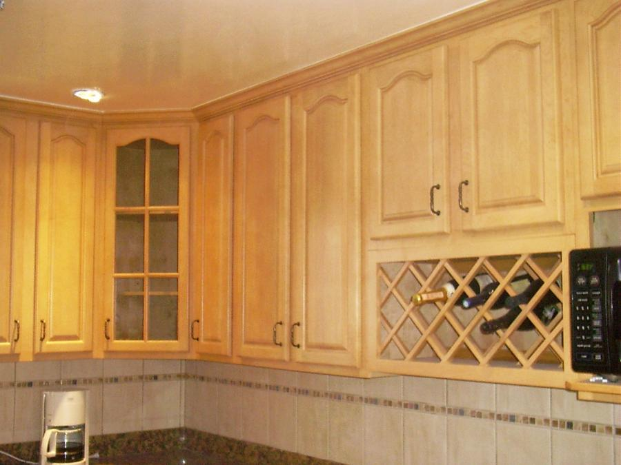 Natural Maple Cathederal u0026middot; Contemporary Kitchen...