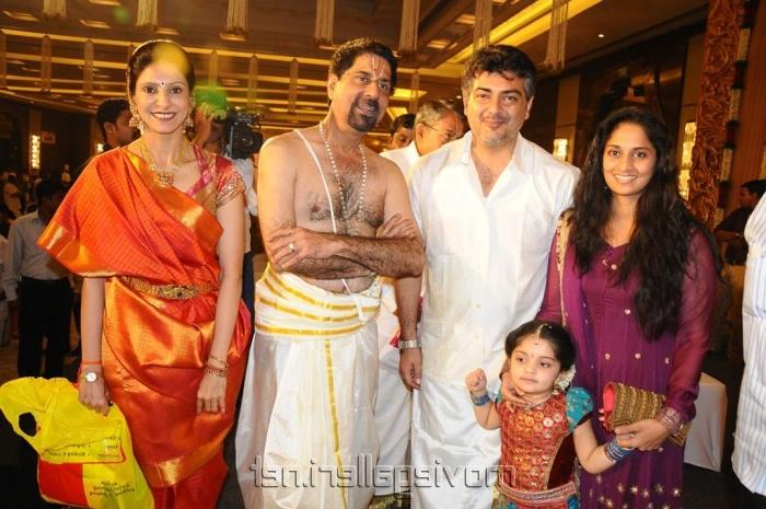 Arvind Swamy Family Photo Wallpapers