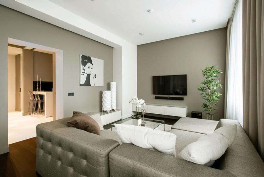 Minimalist Apartment Design By optimizing its 60 rectangle meter...