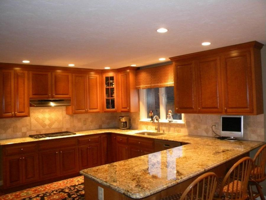 Photos of kitchen countertops and backsplashes for Kitchen designs namibia