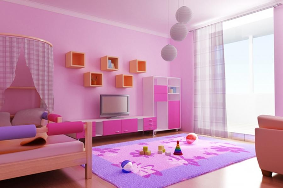 Fresh Kids Room Interior Inspiration Inspirations Pic....